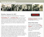 Family Roots Radio Home Page