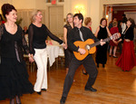 The evening was filled with joyous music and dancing.