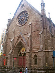 Lillian Booth's donation given to the Restoration Building Fund of the St. Sava Serbian Orthodox Cathedral in New York City.
