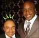 At a Queen's Grammy Party it was Reigning Kings: Barry Bonds and Giovanni The Margarita King