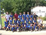 Kannot Youth Village Soccer Team – Technical Director of Soccer - Coach Paritzky Isaac (top right)