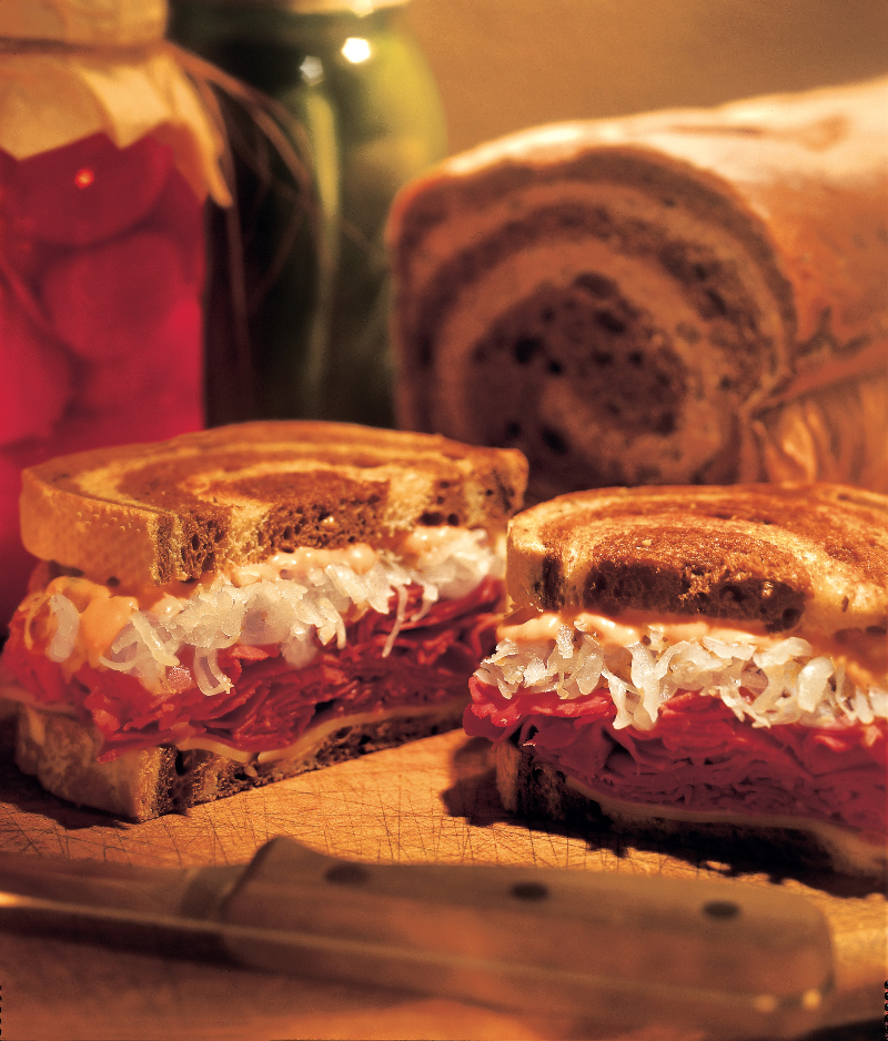 the perfect reuben sandwich the perfect reuben sandwich teams corned ...