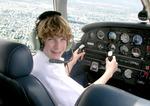Air Camper at the Controls