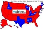 Red states vs Blue states RAZR style