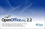 OpenOffice.org 2.2 splashscreen