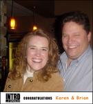 Karen T. and Brian P. (Intro2Singles love match
