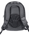 "The new V2 Velocity SPYDER Laptop BackPack  with ""cush-pad"" comfort collar tested to 50 lbs."