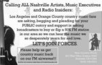 Ad paid for by Country Music Fans