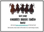 Flyer made by Country Music Fans