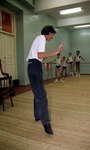 Sergey Chernayev teaching class at the Perm State Ballet School.