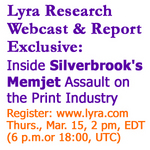 Lyra Webcast Exclusive: Inside Silverbrook Research's Memjet