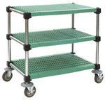 LIFESTOR® utility cart with MICROGARD® protection