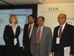 Patricia Serratore of ASE; Vikram Sinha Tata Motors; S
