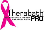 TherabathPRO Logo with Pink Ribbon