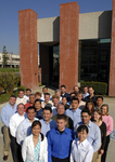 SpectraSensors staff in front of the company's new Rancho Cucamonga, California facility.