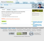 Business Blogging With NetworkSolutions Hosting