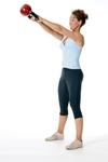 Sarah Lurie, Kettlebell workout