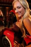 Female model at Jet Port Reception