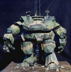 Generation I MORAV miniature robot