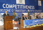 Prime Minister Shaukat Aziz declared Competitiveness as the corner stone of Pakistan's Growth Strategy