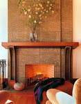 Concrete fireplaces are now becoming a centerpiece of home design and decorating.