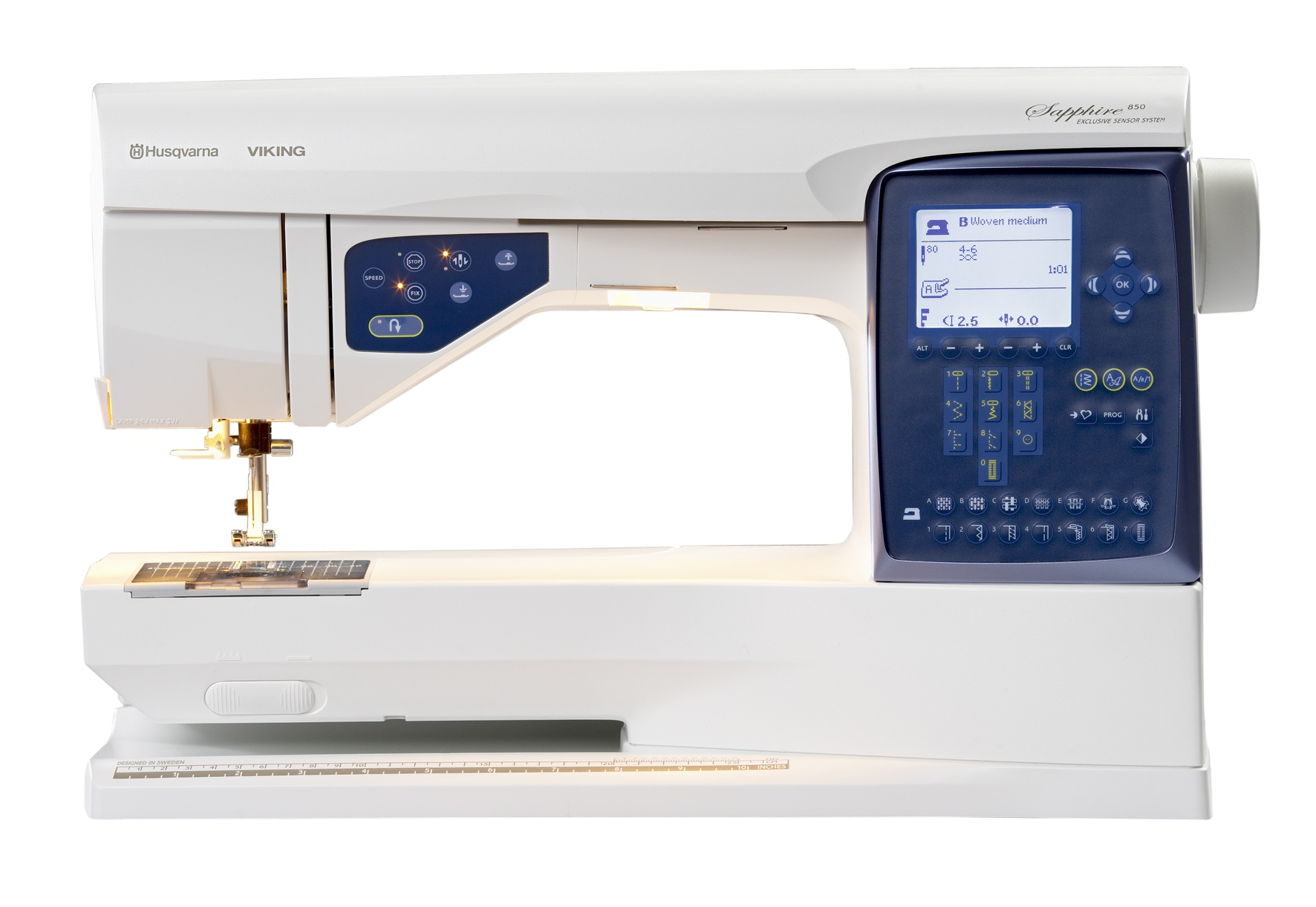 The New HUSQVARNA VIKING(R) SAPPHIRE(TM) Sewing Machines Bring ...