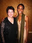 Venus Jones and Kim Gandy