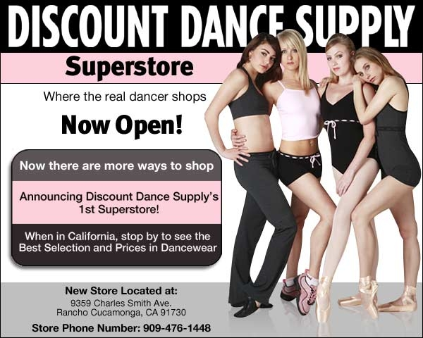 If you're a dancer, you've got to shop at Discount Dance Supply for the best deals. Shop a huge selection of leotards, costume pieces, bags and accessories perfect for any kind of dance.