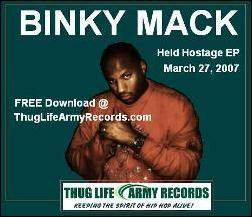 Binky Binky Mack Held Hostage E.P.
