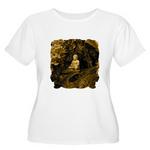 Buddha Plus Size Women's T-Shirt