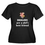 Dragon Plus Size Women's T-Shirt