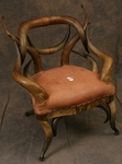Antique Horn Chair by Wenzel Friedrich