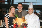 Lindsay Johnson, Richard Janetta, and Alejandro Vicens from Harry's Bar and American Grill.