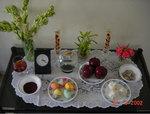 No Ruz Haft Seen Table Photo