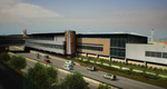 Rendering of security addition at Midway International Airport in Chicago