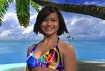 BikiniZero's stories are delivered by bikini-clad hostesses in a fun and dynamic few minutes.