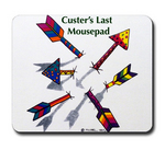 Custer's Last Mouse Pad