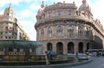Italian city and circle