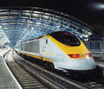 High speed train from London to Paris © Eurostar