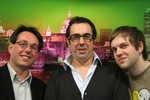 Les trois co-fondateurs de Webjam