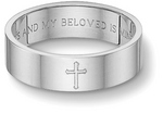 Our Most Popular Style. Song of Solomon Bible Verse Wedding Band