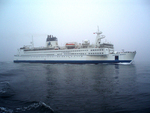 Africa Mercy During Sea Trials