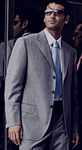 Hugo Boss Suit Gray/ Blue