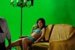 Jennifer Sciole on Green Screen with Kim Coates