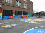 School yard transformed after City Year service