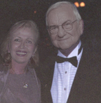 Mira Zivkovich with Lee A. Iaccoca, Co-Chairman of the National Ethnic Coalition of Organizations Foundation which sponsors the Ellis Island Medal of Honor at the 2005 Ellis Island Medal of Honor Gala.
