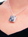 Photo Tile Mini Necklace