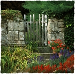 The Manoir Gate by Girts Gailans