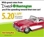 Directhuntington's 5.20% APY high interest savings