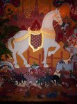 Antique Thai tapestry